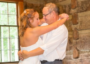 My first dance with my first married daughter...